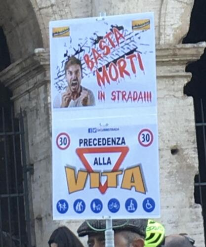 Evento Rispettiamoci in strada - Roma 2020